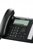 UT136 Business Black Telephone -Left View