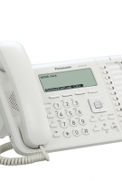UT136 Business White Telephone -Right View