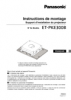 ET-PKE300B Series Operating Instructions (French)