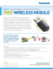 PT-VMZ50 Series Promotion: Free AJ-WM50 Wireless Module